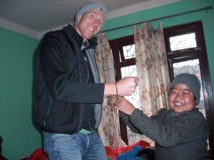 Gunnar och Tak badur