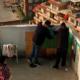 Rita och reparationsmännen på taket